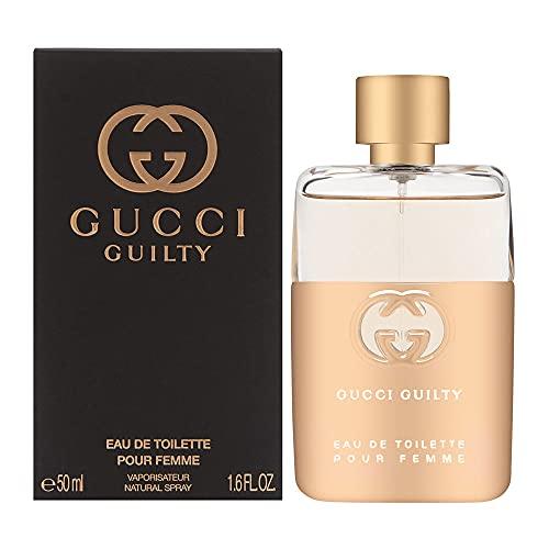 Gucci Guilty Eau de Toilette Nuovo Packaging 2021 Donna, Floreale, 50Millilitri