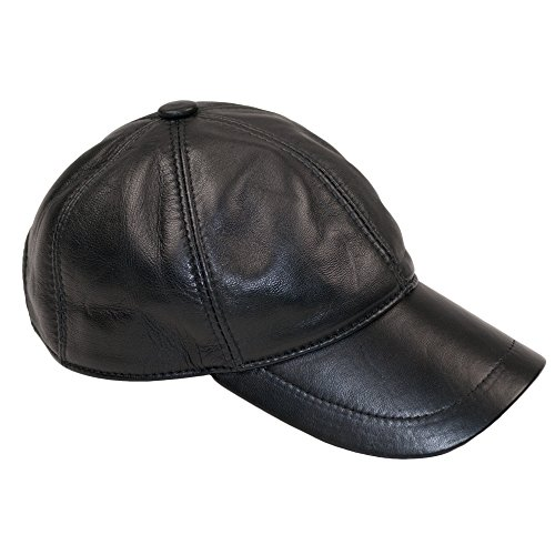 Dazoriginal Leder Baseball Cap Basecap Herren Baseballmütze Baseballkappe Hute MEHRWEG