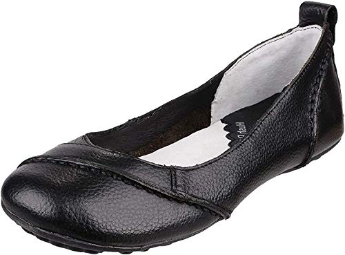 Hush Puppies Damen Janessa Geschlossene Ballerinas, Schwarz (Black), 38 EU (5 UK)