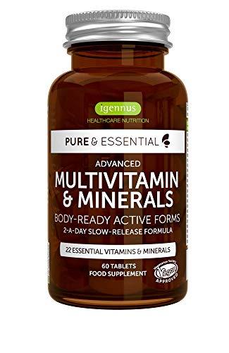 Complejo multivitamínico Pure & Essential de Igennus