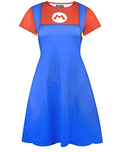 Vestido de fantasia SUPER MARIO, Multicoloured, Large