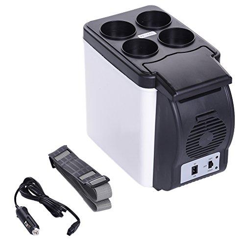 LianLe Glacière électrique pour voiture 6 l - mini boite isotherme de 6 l - Pour garder au frais ou au chaud