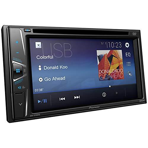 Pioneer AVH-G115DVD in-Dash Double-DIN DVD Player USB Multimedia AV Stereo Receiver with 6.2'' WVGA Touchscreen