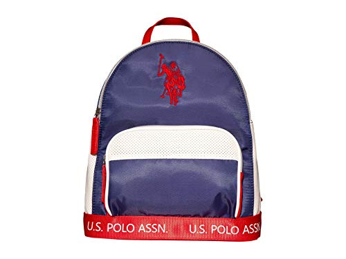 U.S. POLO ASSN. Perforated Nylon Sport Backpack Navy One Size