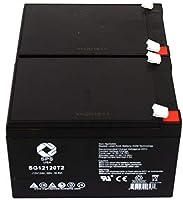 交換バッテリーUPS用バッテリー電源Patrol sla1105(SPSブランド)–2パック