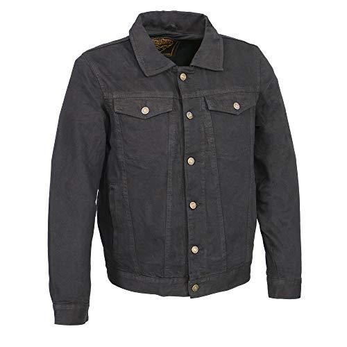 Milwaukee Performance MDM1015 Men's Classic Black Denim Jean Pocket Jacket with Gun Pockets - 2X-Large