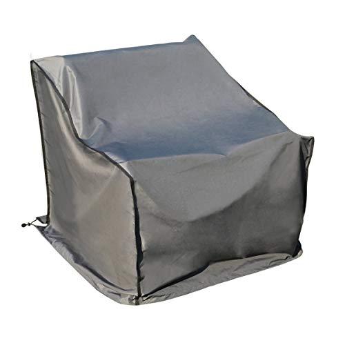 SORARA Housse de Protection Hydrofuge pour Canapé | Gris | 86 x 86 x 90/61 cm