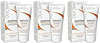 Ducray Anaphase Cream Shampoo with Hair Care Guide by Kapro, 100ml (Pack of 3)