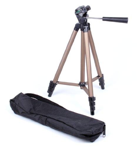 Treppiedi, monopodes, e asta/Selfie Stick per videocamere Zoom Q4, q4N e Q8Fotocamera Compatta Registratore Audio Nero
