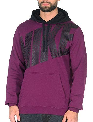 NIKE Sudadera de Hombre Purple XS