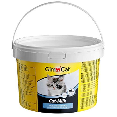 GimCat Cat-Milk Muttermilchersatz - Vitaminreiche Katzenmilch mit Taurin und Calcium - 1 Dose