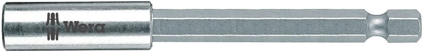 Wera Hexagon 899/4/1 Stainless Steel Sleeve, Universal Bit Holder 1/4