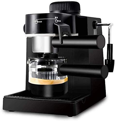 YGB Expert Kaffeemaschine, Haushaltskleinkaffeemaschine Halbautomatischer Dampftropfen mit Milchschaum Kaffeemaschine mit großer Kapazität