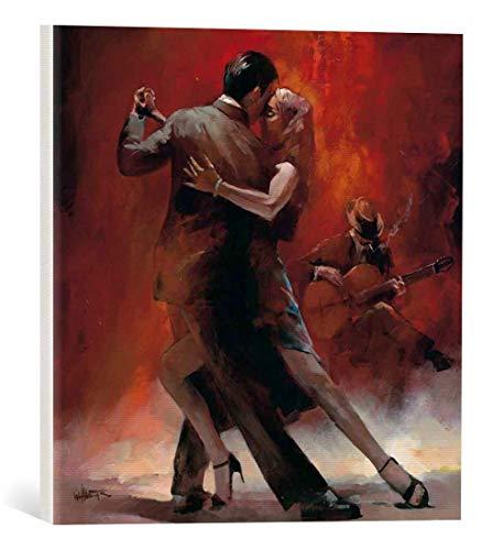 Kunst für Alle Cuadro en Lienzo: Willem Haenraets Tango Argentino II - Impresión artística, Lienzo en Bastidor, 40x40 cm