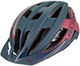 Rudy Project Venger 2020 - Casco para bicicleta de montaña, color azul marino, continuidad, color azul marino/rojo, tamaño M | 55-59cm