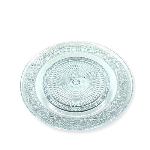 Bajoplato Labrado Cristal Antique - (Pack 6) - 33 cm