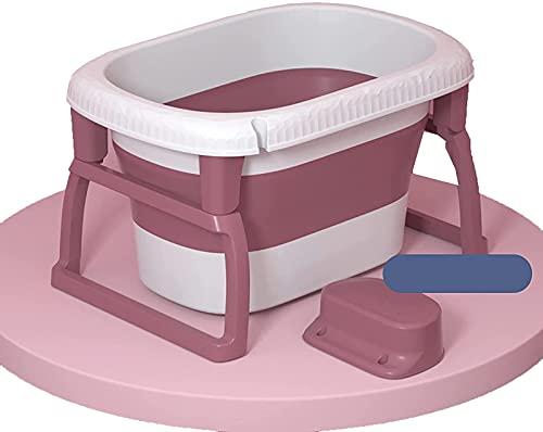 LRBBH Faltbadewanne, Tragbare Haushaltsmittel-Badewannen-Kinder, Die Das Duschbad Aus Kunststoff Erhöhen, Kann Als Spielzeuglagerung Und Waschküche Verwendet Werden