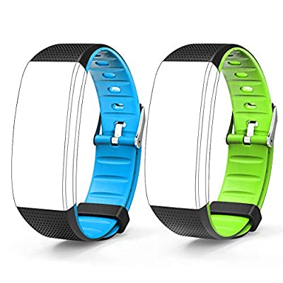 AKASO Hband 3 Fitness Tracker Replacement Band 2 Pack, Suit Hband 3 Activity Trakcer Only