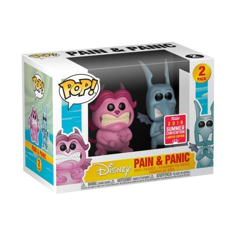 Funko Pop Disney: Hercules-Pain y Panic 2 Pack 2 SDCC