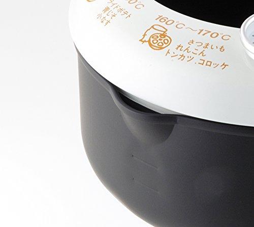 ヨシカワ『あげた亭温度計付天ぷら鍋20cm』