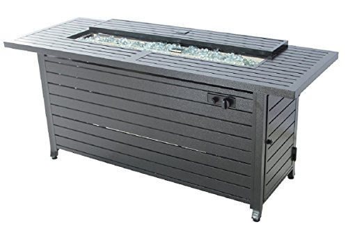 Rectangular Fire Pit Table with Lid by Legacy Heating
