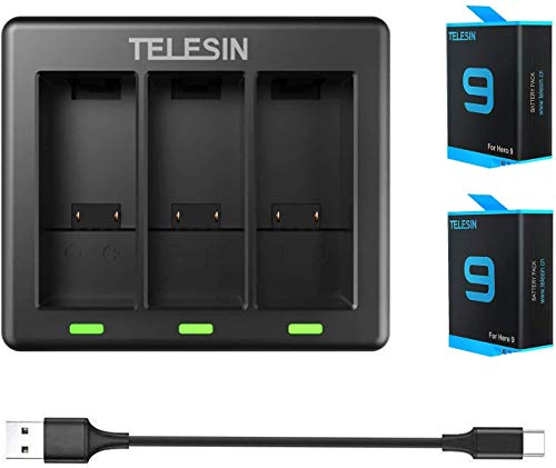 TELESIN 2-Pack Replacement...
