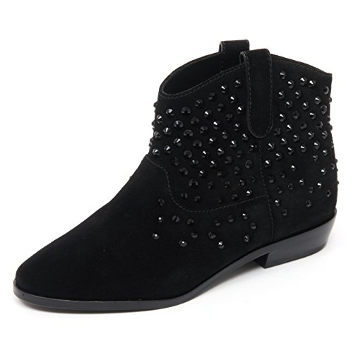 Michael Kors B8673 Tronchetto Donna Dani Bootie Scarpa Nero Shoe Boot Woman [39]