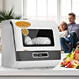 Rpvati Countertop Dishwashers,Portable intelligent Dishwasher...