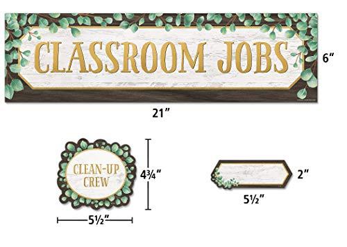 Teacher Created Resources Eucalyptus Classroom Jobs Mini Bulletin Board, TCR8453 Photo #2