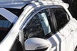Para Ford Ecosport Deflectores de viento Set (4piezas) (cromo)