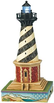 Jim Shore Heartwood Creek from Enesco Cape Hatteras Lighthouse Figurine 9.5 in