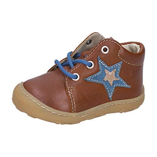 RICOSTA Kinder Boots Romy von Pepino, Weite: Mittel (WMS),lose Einlage,schnürschuhe,schnürer,schnürstiefelchen,Cognac (263),26 EU / 8.5 Child UK