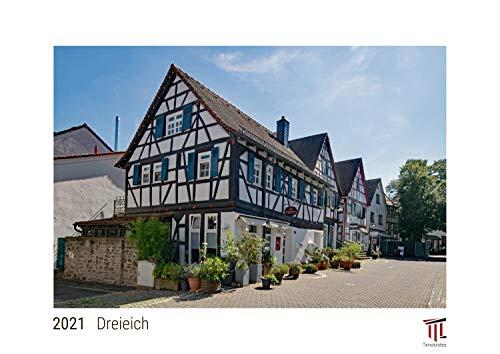 Dreieich 2021 - White Edition - Timokrates Kalender, Wandkalender, Bildkalender - DIN A3 (42 x 30 cm)