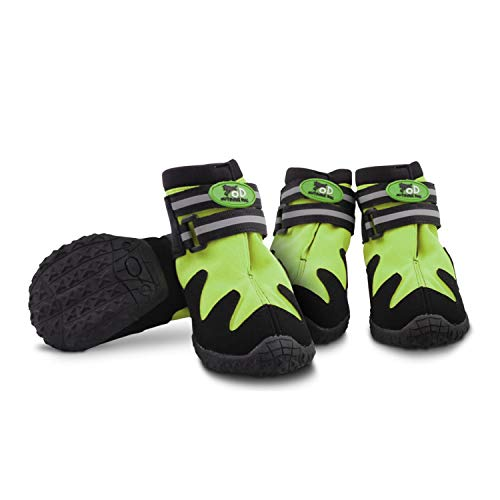 All for Paws Dog Shoes for Small Dogs, Paw Protective Dog Boots for All Seasons, 4PCS (XS)