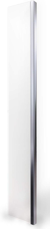 Walk-In-Dusche Seitenelement Spritzschutz Nano Echtglas EX106 - Klarglas - 30x200cm