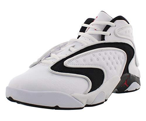 Jordan Air OG, Running Shoe Mujer, Blanco/Rojo Universitario/Negro, 40.5 EU