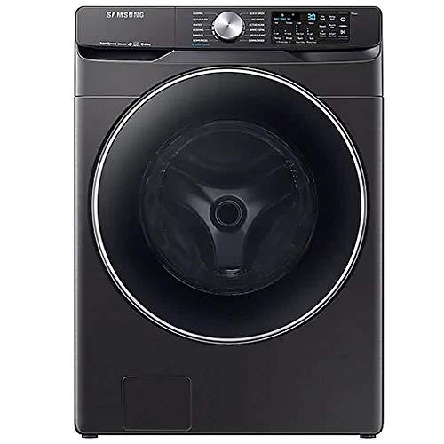 Samsung WF45R6300AV 4.5 cu. Ft. Black Stainless Smart Electric Front Load Washer...