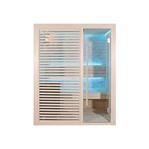 EO-SPA Sauna B1410A Pappelholz 180x105 3kW EOS BiO-Mini
