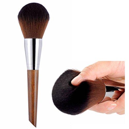 CLOTHOBEAUTY Premium Synthetic Kabuki Makeup Brush Kit Incredible Soft XLarge Powder Blush Bronzer Brush