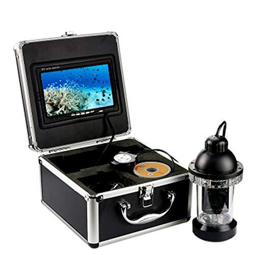 360 ° Girar LCD Pez Descubridor con Dvr Función 7 Pulgadas Alta Definición Monitor Submarino Pescar Vídeo Cámara con Llevar Caso