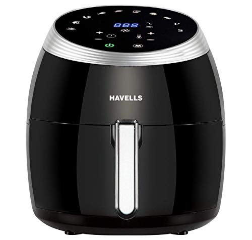 Havells Prolife Grande Air Fryer with Aero Crisp Technology 1700 Watt (Black)