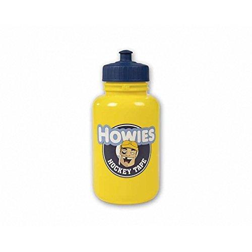Howies Hockey Tape Sport-Trinkflasche, Pop-Top, langer Strohhalm, Gelb