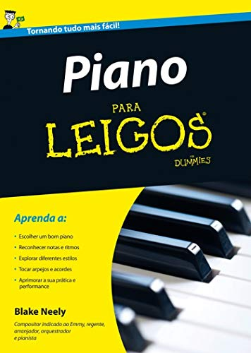 Piano Para Leigos (Em Portuguese do Brasil)