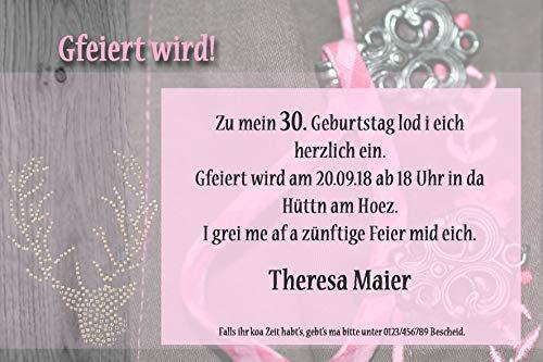 10x Einladungskarte Fotokarte Grußkarte Geburtstag wählbar mit oder ohne Umschlag transparent (ohne Umschlag)