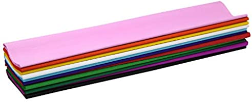 Specialist Crafts Crepe Paper Assorted Pack of 12