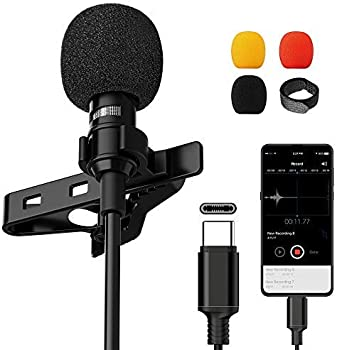 VIC VSEE Professional Type-C Lavalier Lapel Microphone for Android