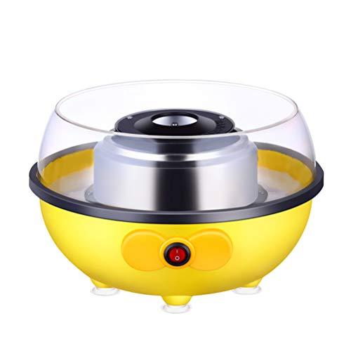 YEKKU Zuckerwatte-Maschine Zuckerwattemaschine für Zuhause Elektrische Zuckerwatte-Maschine Maschine für Kinder Geschenk Mini-Zuckerwatte-Maschine für Familiengeburtstage und Partys