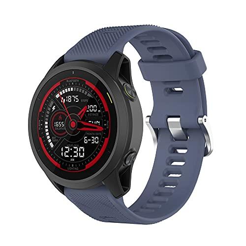 Compatible con Garmin Forerunner745 Bands, accesorios de repuesto de silicona para Garmin Forerunner 745 GPS Running Watch,