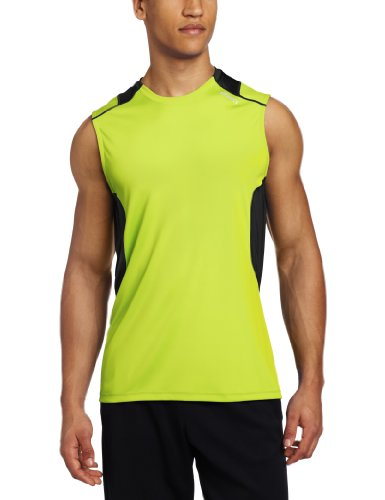 ASICS Camisa de Hombre Favorite SL, Hombre, MR1683.01, Wow/Black, XXL