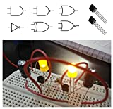 Digital logic gates may have more than one input, (A, B, C, etc.) but generally only have one digital output, (Q). Individual logic gates can be connected together to form combinational or sequential circuits or larger logic gate functions. Simple ba...